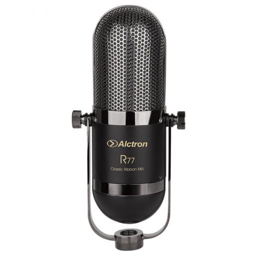 Micrófono de cinta activo con patrón polar figura 8, Su construcción especial minimiza la distorsión de la cinta para un rendimiento duradero y una reproducción precisa de la fuente de sonido.