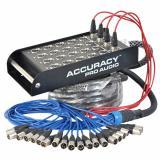 Snake de 16 envios y 4 retornos, cable de 30 metros, Stagebox incluido., Caja de distribución de acero reforzado
