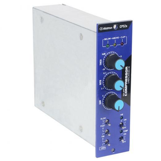 Compresor de función completa totalmente variable, para configuraciones de alta densidad, como la grabación en vivo, donde desea capturar el sonido natural del instrumento.