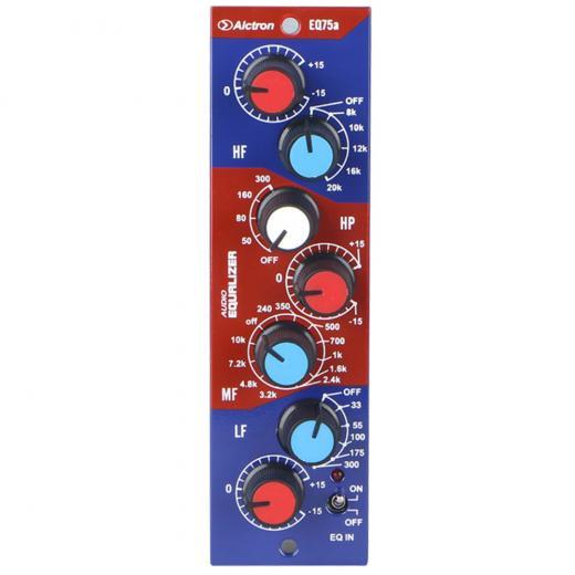 Ecualizador de estilo vintage, circuito de clase A, línea de salida con circuito push-pull de transformador tipo A, Elimina la distorsión de cruce para mantener la calidad del sonido original.