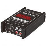 Caja directa estéreo especialmente diseñada para manejar los rigores del estudio de grabación profesional y el entorno abusivo de las giras en vivo, filtro de paso bajo preciso está diseñado para producir una curva de respuesta cálida y suave