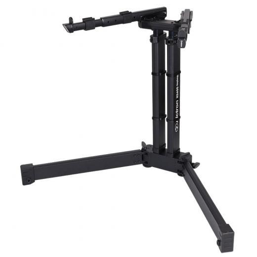 Soporte de teclado profesional, cuerpo y soportes de aluminio resistente, plegable para facilitar el transporte, brazo de soporte ajustable 4 niveles y soporte ajustable en altura de 15 niveles
