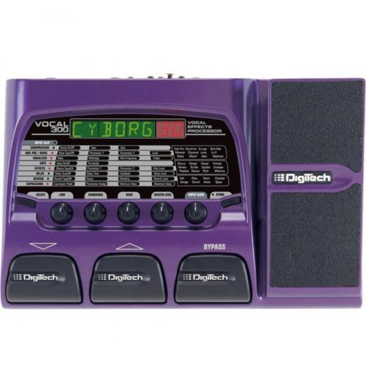 Hasta 7 efectos simultaneos, hasta 4 parámetros totalmente programable por efecto, convertidores de analógico-Digital de 24 bits, Pedal de expresión V-Switch
