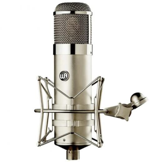 Micrófono de condensador de tubo de diafragma grande con 9 patrones polares, fuente de alimentación externa, manejo robusto de 140dB SPL