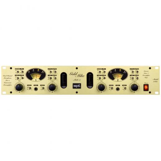 El GoldMike Mk2 combina las ventajas de la amplificación por transistor de clase A con la tecnología de amplificador de válvulas.