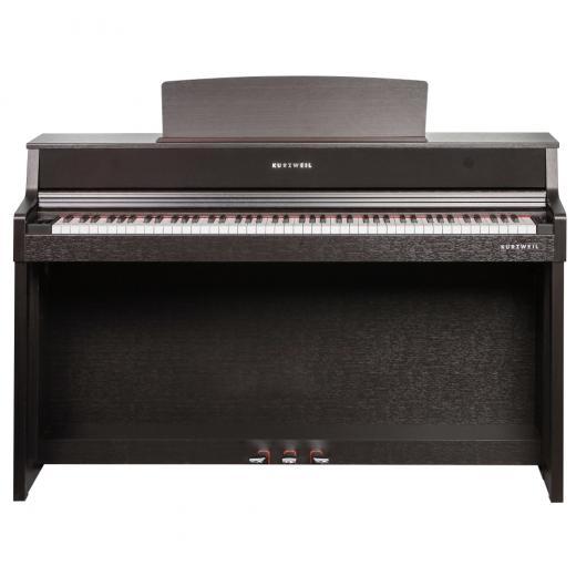 Alojado en un gabinete contemporáneo, el CUP410 ofrece un teclado de acción de martillo graduado de 88 notas con un diseño de sensor de velocidad de 3 puntos.