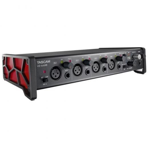 """Interfaz de audio USB-C de 4 entradas / 4 salidas con 4 entradas XLR, 4 entradas de 1/4"""", MIDI y paquete de software - Mac / PC / iOS"""