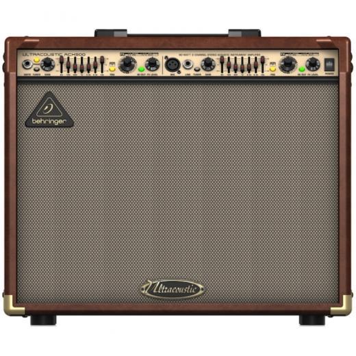 Amplificador de instrumentos acústicos estéreo de 2 canales, 90 watts con detección de retroalimentación Dual FX y FBQ