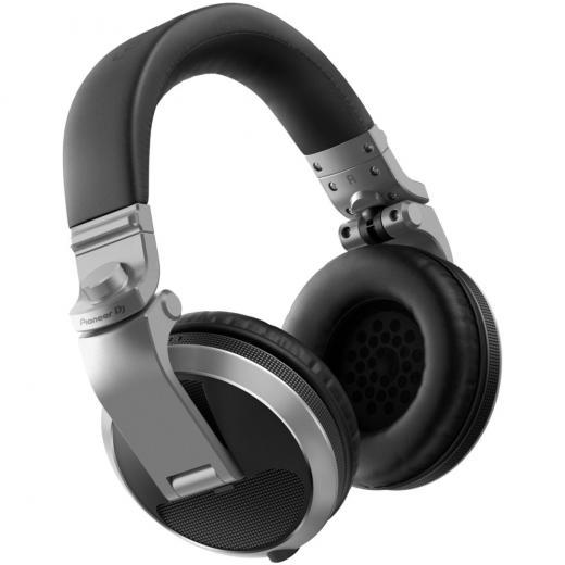 Audifonos para DJ circumaurales con parte trasera cerrada, controladores de 40 mm, con rango de frecuencia de 5Hz-30kHz, cable desmontable y bolsa de transporte