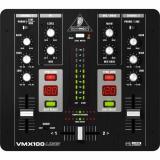 Mezclador de DJ de 2 canales con USB compatible con Class y contador inteligente BPM, Kill EQ de 2 bandas (-32dB) te permite mezclar pistas de forma divertida y creativa