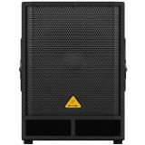 """Subwoofer PA activo 15"""" con crossover estéreo integrado, Amplificador clase D de 500 watts de última generación que incluye protección de límite, térmica y de clip"""