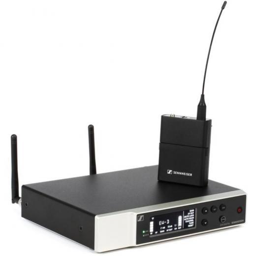 Sistema digital inalámbrico con transmisor de bolsillo, receptor, kit de rack y accesorios - R1-6 (520-576MHz)