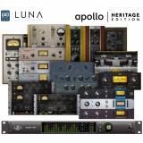 Interfaz de audio Thunderbolt 3, 18 entradas / 20 salidas, 24 bits / 192 kHz con compatibilidad LUNA, bundle premium y bundle Realtime Analog Classics Plus - Mac / PC AAX 64, VST, AU, RTAS