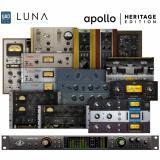 Interfaz de audio Thunderbolt 3, 18 entradas / 24 salidas, 24 bits / 192 kHz, 4 preamplificadores Unison, compatibilidad con LUNA, bundle premium y bundle Realtime Analog Classics Plus - Mac / PC AAX 64, VST, AU, RTAS