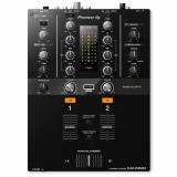 Mezclador DJ digital de 2 canales con ecualizadores de 3 bandas, filtros de efectos de color de sonido, magvel crossfader reemplazable, interfaz de audio USB y rekordbox dj / DVS