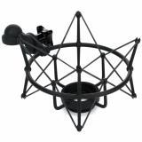 Soporte de suspensión elástica para micrófonos Neumann M 147, TLM 103 y TLM 193 color Negro Mate