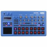 Caja de ritmos de 16 partes con 409 sonidos de modelado analógico / PCM, 16 pads sensibles a la velocidad, 16 tipos de filtros, 38 tipos de efectos y 250 patrones