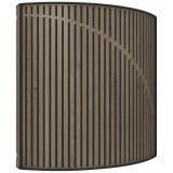 Difusor, color Brown Oak, fácil de instalar tanto en la pared como en el techo, Materia Prima Lana VicPet, MDF y Melamina