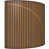 Difusor, color Locarno Cherry, fácil de instalar tanto en la pared como en el techo, Materia Prima Lana VicPet, MDF y Melamina