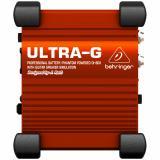 """Caja directa activa alimentada por batería / phantom con dos pads de -20dB, emulador de cabina de altavoz de 4x12"""""""
