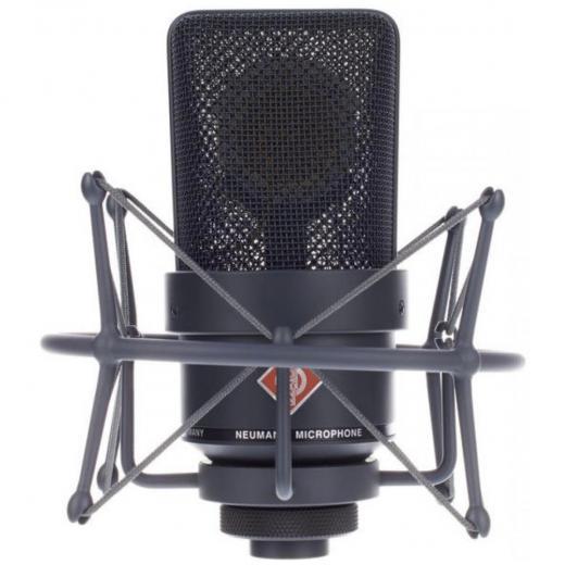 Micrófono cardioide de diafragma grande, rango de frecuencia 20Hz-20kHz, Acabado de níquel, Circuitos sin transformador