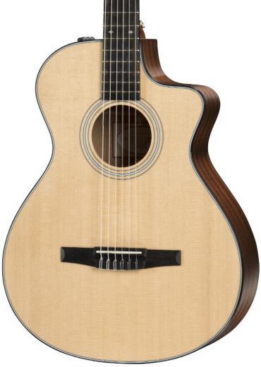 Guitarra Electroacustica Serie 300 Cuerda Nylon