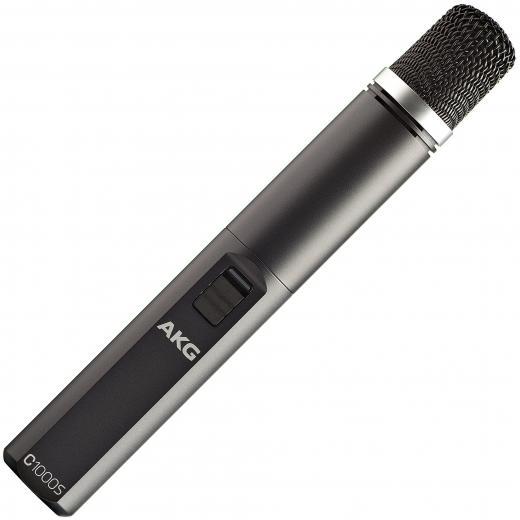 Micrófono adecuado para aplicaciones de grabación y sonido en vivo, así como para ENG / EFP y producciones de vídeo