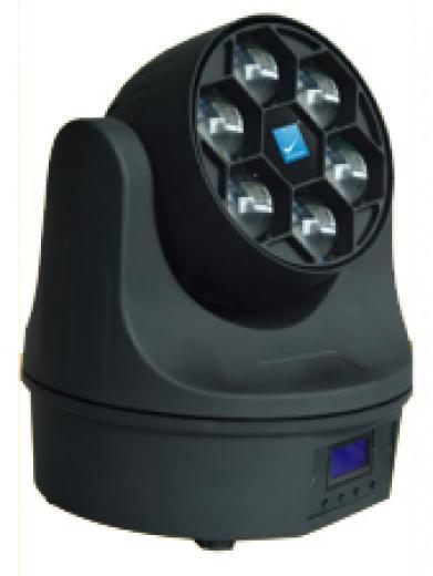 Cabeza Movil Led Beam RGBW 6X15W