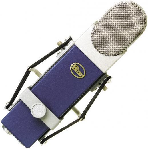 Micrófono condensador cardioide de diafragma grande, con cápsula hecha a mano y Shockmount, para voces y guitarra acústica. 140dB SPL, 20Hz - 20kHz.