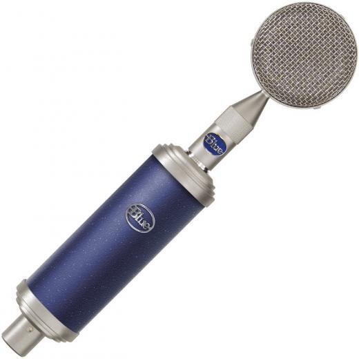 Micrófono condensador solid-state de diafragma grande, con cápsula intercambiable. Viene con la cápsula B8 (Bluebird).