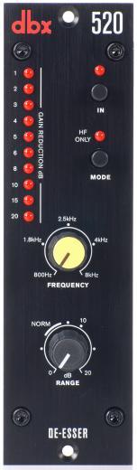 Basado en la serie modular 500, permite cambiar las señales de nivel hasta en 60 dB, control de frecuencia con un rango de 800 Hz a 8 kHz