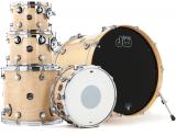 "Set de 5 piezas con toms de 10"" y 12"", Floor Tom 14"" y bombo de 22"" - Natural - Hecho en USA"
