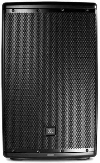 """1000 W y 12"""" con tecnología JBL Waveguide, ecualizador DSP incorporado y control remoto inalámbrico a través de Bluetooth"""