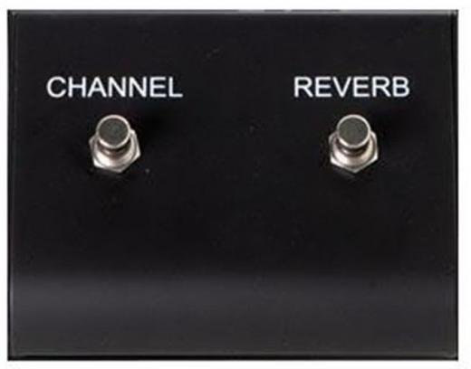 Footswich 2 vías, 2 conectores mono, canal y reverb