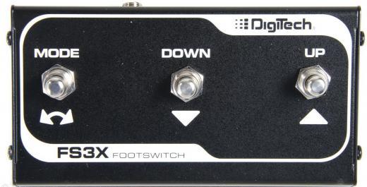 Interruptor de pie de 3 botones para usar con JHE, EX7, ZAS-BM y JamMan Looper