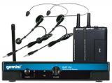Inalámbrico de cintillo UHF, reproducción de voz de alta calidad, 16 frecuencias de funcionamiento, Circuito Phase Locked Loop (PLL) para una mayor recepción