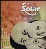 "Set Hi-hat 14"" + Crash 16"" + Ride 20""  Performance Solar"