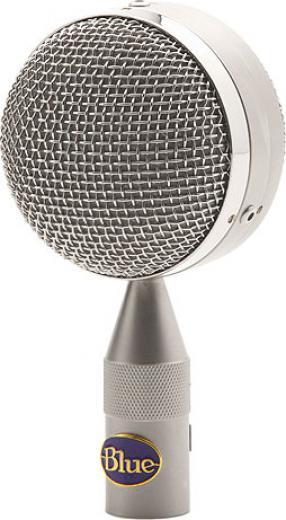 Cápsula cardioide de diafragma grande para micrófono Blue Bottle. Entrega bajos realzados y presencia en altas frecuencias para voces, piano o guitarra acústica