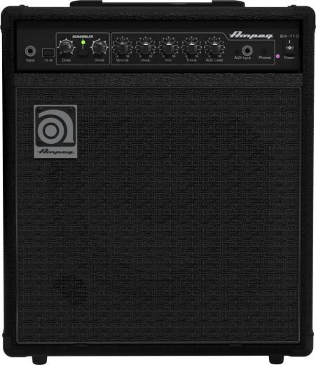 """Amplificador Combo Bajo 40W 1 x 10"""" con Eq de 3 bandas, Entrada Aux, Salida de auriculares, Scrambler de bajos, Atenuador -15dB"""