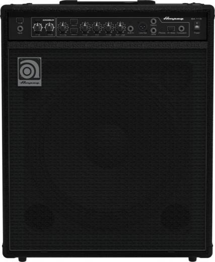 """Amplificador Combo Bajo 150W 1 x 15"""" con Eq de 3 bandas, Entrada Aux, Salida de auriculares, Loop de efectos, Scrambler de graves"""