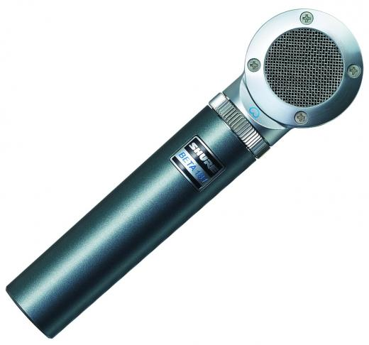 Micrófono de condensador de dirección lateral de diafragma pequeño cardioide
