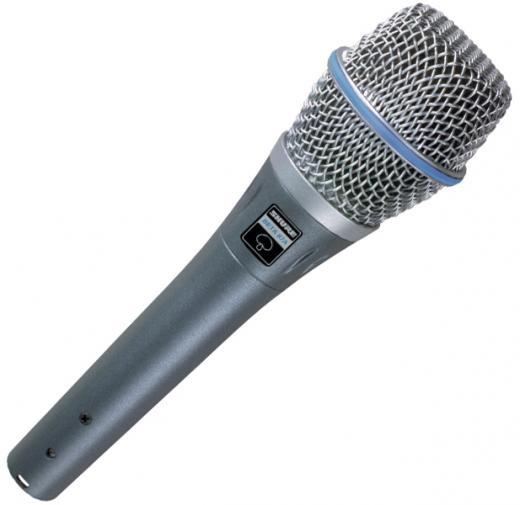 Micrófono Condensador Electret Supercardioide Portátil