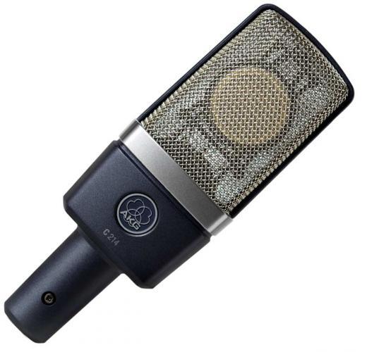 Micrófono de condensador cardioide de gran diafragma con rango dinámico de 143dB, atenuación intercambiable de 20dB y filtro de corte bajo