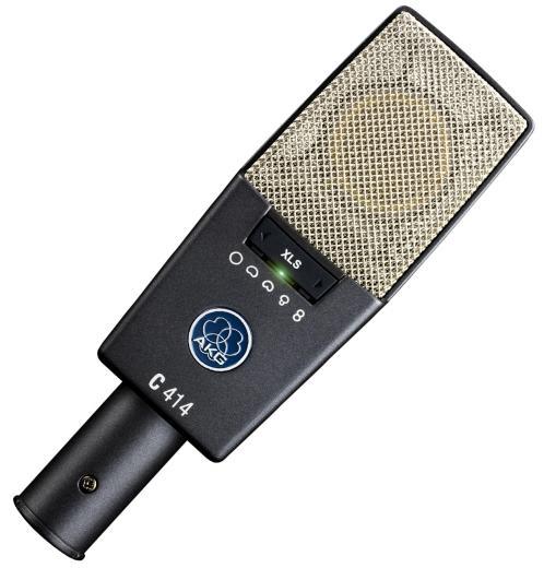 Micrófono de condensador de gran diafragma con nueve patrones polares intercambiables