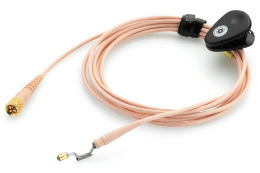 Cable MicroDot de 1.6 metros para micrófono de cintillo DPA d:fine™, color beiger.