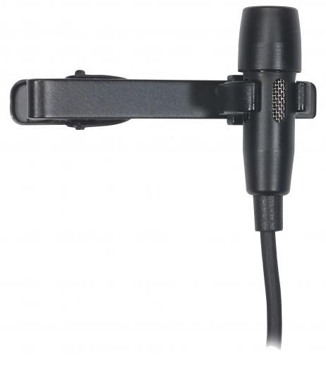 Se conecta a los transmisores de bolsillo AKG, sobre los 10 kHz para mayor claridad, patrón polar cardioide y atenuación de bajos