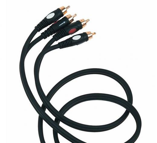 Cable profesional flexible, Conectores 2 RCA a 2 RCA