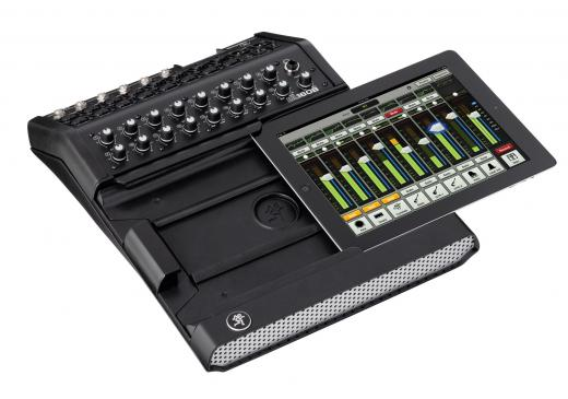 Mezclador digital con 16 preamplificadores Onyx, convertidores AD / DA de 24 bits, efectos DSP, conector Lightning, con soporte para hasta 10 conexiones inalámbricas para iPad