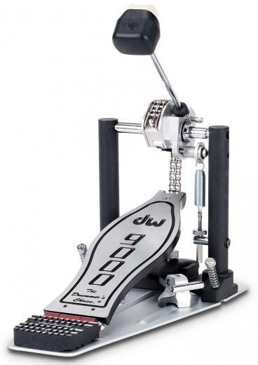 Pedal con leva infinitamente ajustable, transmisión de cadena y correa de nylon incluida