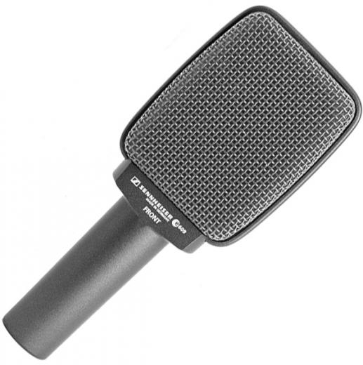 Micrófono para amplificador de guitarra, supercardioide dinámico